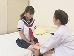 Young Japanese gal get... video