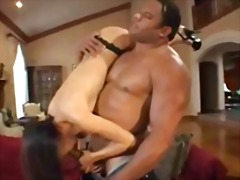 mouth, facefuck, blowjob, asian, black,
