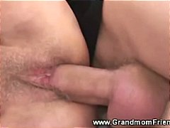 young, granny, grannies, cum, threesome, guys, on, grandmother, mature, group