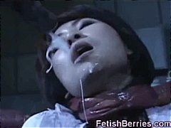 DrTuber Movie:Asian Cum Covered by Tentacles!