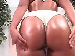 ebony, big-cock, ass, oil, jessica