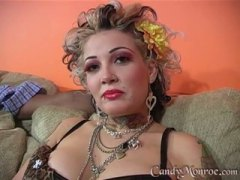 PornerBros Movie:Candy Monroe with black dude i...