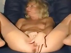 Thumb: Tight mom playing with...