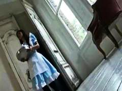 Nasty maids toying and...
