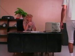office, blowjob, pussy-licking