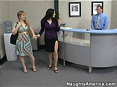 Boss's wife catches st... video