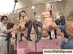 bondage, tied, tied up, asian, maid, fingers, fetish, maids, torture, toys