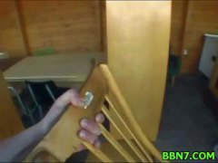 Neat girl spreads legs to ... - 05:06