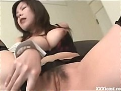 Shy Asian In Stockings from Tube8