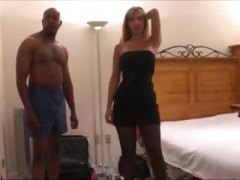 interracial, husband, creampie, gangbanged, gangbang, on, phone