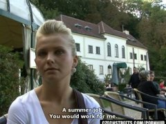 PornHub Movie:CZECH STREETS -BLONDE EUROCHICK