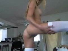 Amazing Blonde Camgirl...