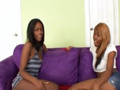 See: Two black girls show h...