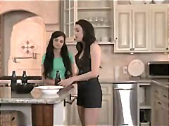 Tube8 Movie:Horny young skinny teen lesbia...