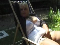 fishnet, lesbian, outdoor, stockings, older, french, mature, panties, fat, reality, blonde, threesome, lick, european