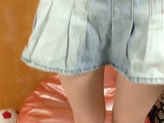 Shy teen first time on... video