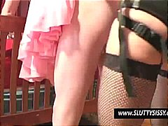 Thumb: Crossdresser gets his ...