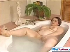 chubby, redhead, banged, tub, fat, plumper, garden, fucking, amateur, herself, girl, gets