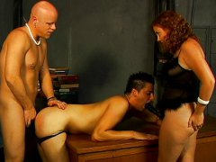 Husband wife double team video