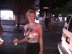 flashing, fest, girls, public nudity, amateur