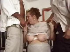 milf, mature, party, threesome