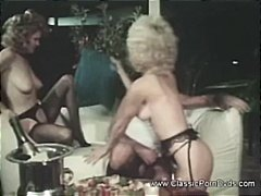 Classic porn with two ... video