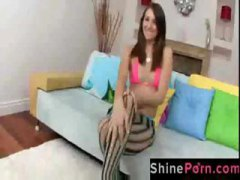 DrTuber Movie:Brunette Katie Jordin wears fi...