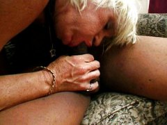 Granny gets black cock video