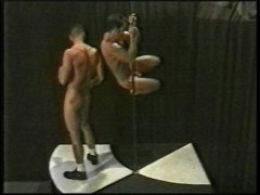 Pole dancing hot guys video