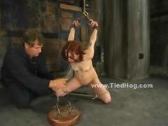 HardSexTube Movie:Redhead babe in short dress na...