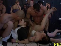 Hard core group sex in... video