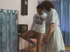 See: Sewing granny takes he...