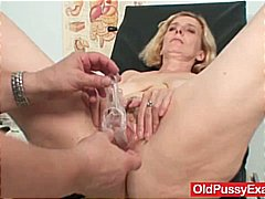 fetish, kinky, milf, speculum, older, bizarre, hairy, mom, close up, doctor, mature, granny, toys, lady, pussy,
