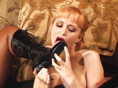 Redtube Movie:Blond slave has to please mist...
