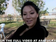 asa akira,  outdoors, asian, public,