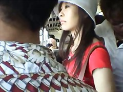 gangbanged, gal, japanese, public, gets