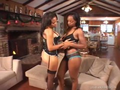 Gorgeous Black Lesbians with Ghetto Butt