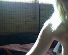 facebook, showing, cute, on, naked, blonde