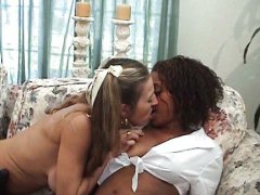 strap-on, interracial, lesbian, teens,