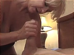 blonde, mature, gets, amateur, french, holes, cock, both, pounded, anal, fuck