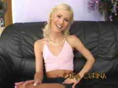 cora carina,  couch, penetration, tease,