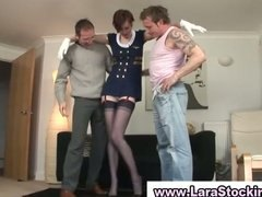 Tube8 Movie:British mature in stockings ge...