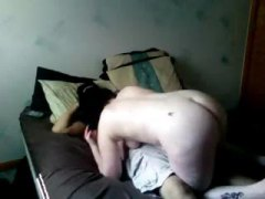 Nuvid Movie:Plumper brunette chick gets fu...