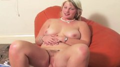 Xhamster Movie:CHUBBY BLONDE BRYONY HAIRY PIN...