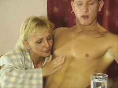 Thumbmail - Mature blonde pounded ...