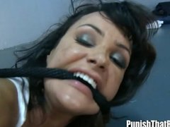 deep, throat, punish, lisa ann, interrogation, pornstar, punishment, storyline, anal, forced, amateur, deep throat, ann, lisa, rough
