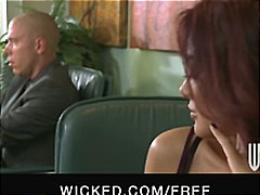 Hot Asian secretary gi... video