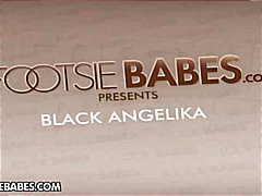 black angelika,  blowjob, hardcore, porn, foot-fetish, footjobs, cumshot, tits, stars, black, big tits, fetish, angelica, pornstar, black angelika