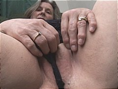 DrTuber - Busty granny in stocki...