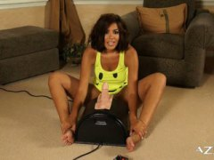 Isis Taylor hot screaming orgasm sybian ride!